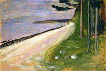Edvard Munch 1863-1944 / Norsk maler - ekspesjonist.