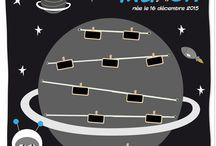Fan de l'espace, des planètes, des vaisseaux / L'espace avec ses étoiles, ses planètes, ses cosmonautes...
