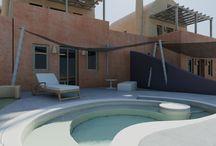 Hotel outdoor design