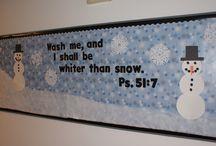 Manualidades Navidad / Escuela dominical