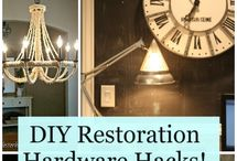 DIY restoration hardware pottery barn / by Lori Anaple
