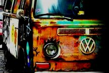 Volkswagens forever / by Jim Pecarovich