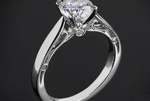 Помолвочные кольца. Золотые кольца на помолвку