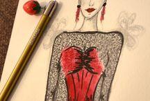 My illustration / Illustration by Mária Šalagová