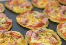 pizza de  batatas .