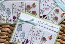 cartes de remerciements et d'invitations
