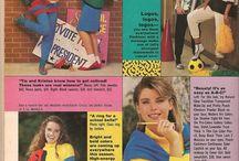 vintage teen 80's