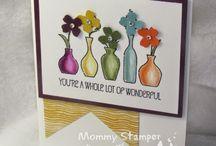 Vivid Vases / Stampin' Up! Vivid Vases