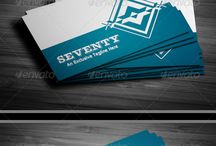Business Cards / Collection of inspirational Business card designs