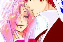 Gaara and Sakura