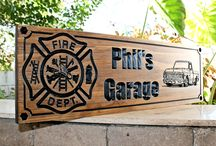 Firefighter - Fire Station Signs