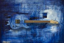 Fibenare - Oliver Sin Collaboration / Best art guitars ever!