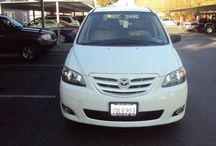 Used 2004 Mazda MPV for Sale ($6,000) at Tracy, CA / Make:  Mazda, Model:  MPV, Year:  2004, Body Style:  Van, Exterior Color: White, Interior Color: Beige/Tan, Doors: Four Door, Vehicle Condition: Excellent Mileage:111,000 mi, Engine: 6 Cylinder, Transmission: Automatic, Fuel: Gasoline, Drivetrain: 2 wheel drive.   Contact:209-207-1894   Car Id (56697)