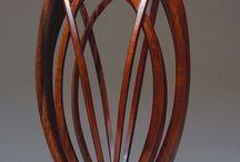 Sculpture / Sculpture  from glass, wood,  ect.