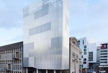 Translucent // glasses // transparent // perforated facades