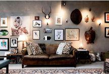 Foto's aan de muur...