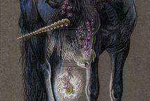 Unicorns and Pegasus Kawaii