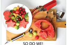 Smart Watermelon Recipes & Drinks / Watermelons are so healthy for us. They contain more lycopene than tomatoes. They can lower the risk of having  stroke, reduce blood pressure and even prevent cancer. I hope you will enjoy these delicious recipes to find creative ways to enjoy them. For the perfect experience use our Watermelon slicer for easy mess free kitchen.
