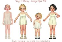 Paper Dolls and Paper Art Dolls / by Jenny Mull