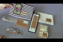 Kraft Tex Ideas / Get superb ideas on what to do with Kraft Tex.  Leather looking wallets, totes, and accessories.