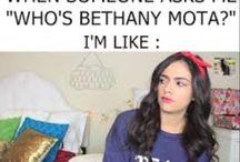 Bethany Mota / Bethany Mota inspires me so much!! x