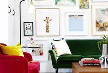 eclectic sitting room