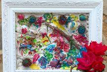 Sztuka z natury / pomysły na wykorzystanie darów natury w działaniach plastycznych