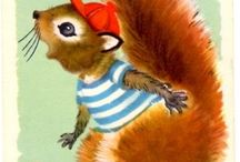 Squirrels / by Angie Smits