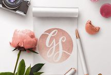 Flat Lay Designs / Flat lay branding images for business and marketing use.