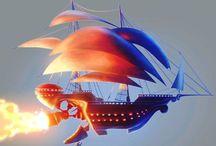 sail space-ship