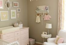 Colorful nursery rooms / matching colors in baby room