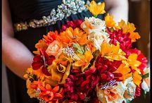 Weddings-Flowers / Sampling of bridal bouquets from past weddings.