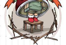 Ilustração 2D/3D / by Dracco Publicidade