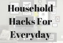 Household hacks / how to, diy household hacks cleaning tips and tricks, household hacks life hacks, household hacks clutter, household hacks diy