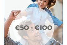 #LuckyDad - cadeaus €50 - €100