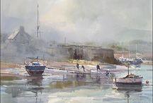 ports and coastal scenes