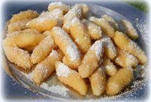 sladké jídlo
