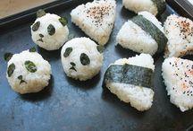 Sushi and Rice Balls