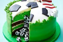 Fun Football Party Ideas / If your boy or girl footy mad? These recipes and ideas are perfect to celebrate the beautiful game in style