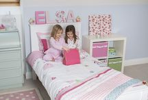 Girls Bedroom Ideas / Featuring the best, most inspirational of girl's bedroom ideas. From minor tweaks to full-blown transformations.