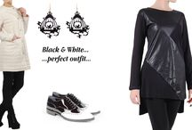 Black & White / White and black clothes
