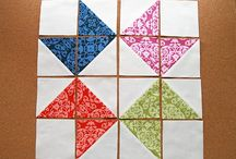 quilts-Half square triangles