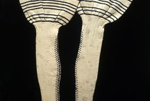 Medieval knitting and nålbindning