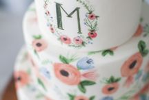 Inspiration - Hand Painted + Watercolor Cakes