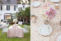 Wedding Inspiration - Glitter / Gold & sequin wedding inspiration for sparking brides!