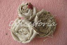 fiori di stoffa creare