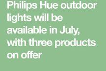 Phillips Hue Outdoor Lighting
