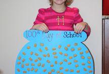 100 days of school craft