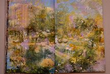 altered book / art, contemporary art, fine art, painting, drawing, art painting, art drawing