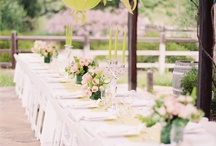 spring green wedding ideas / by Courtney Spencer